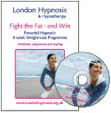 Buy 'Fight the Fat - and Win' Hypnosis CD and Workbook