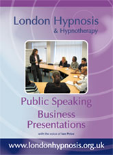 Buy Public Speaking and Business Presentations Hypnotherapy DVD online